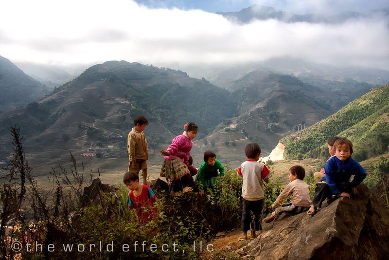 kids of Sapa, Vietnam