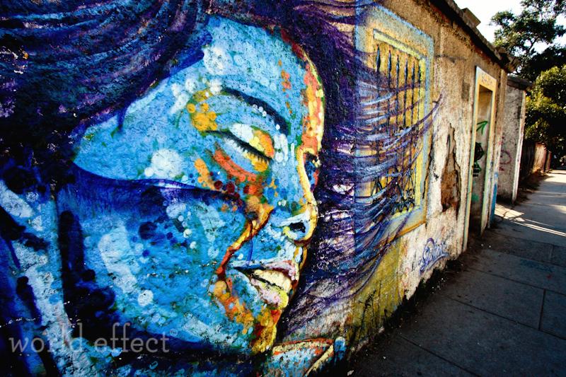 Valparaiso wall mural via worldeffect.com