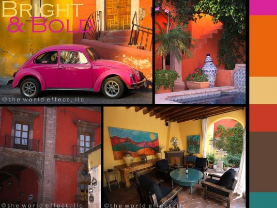 Color palette | San Miguel de Allende, Mexico