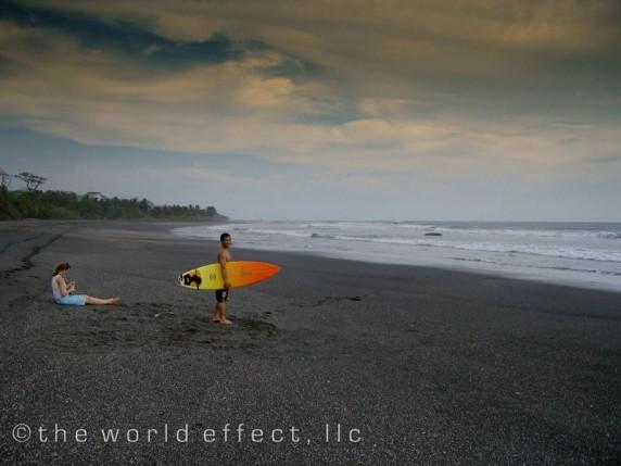 A black Beach   Marbella, Costa Rica