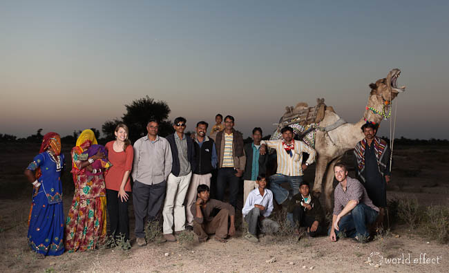 The whole crew | Rajasthan, India
