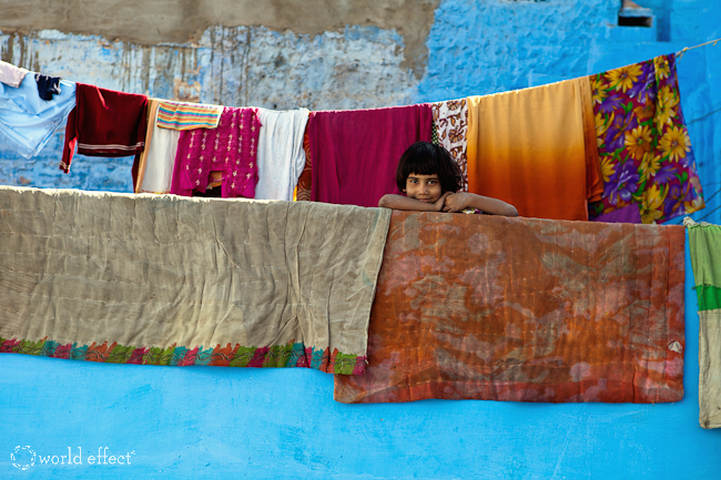 The Perfect Blue Wall | Jodhpur, India