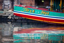 Boat Reflection | Jepara, Indonesia