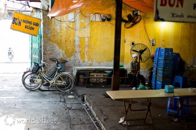 indoor food market | Hanoi, Vietnam