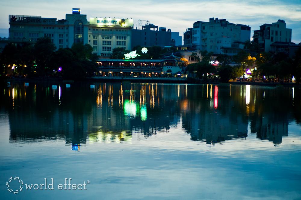 Hanoi, Vietnam at Night